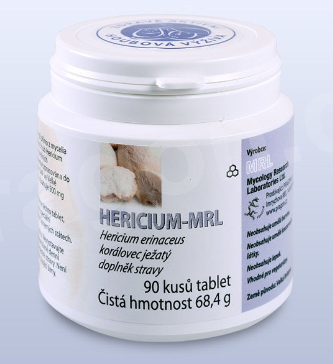 PRAGON HERICIUM MRL 90 tablet