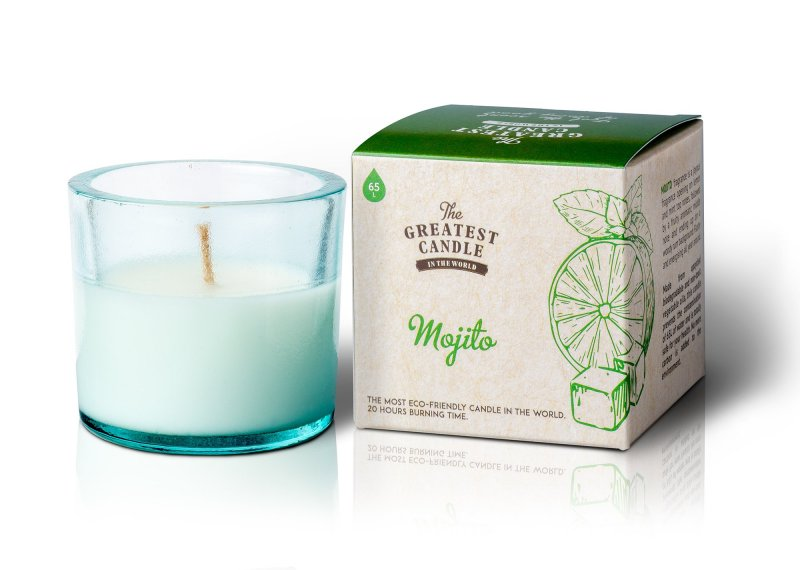The greatest candle Vonná svíčka ve skle 75g mojito