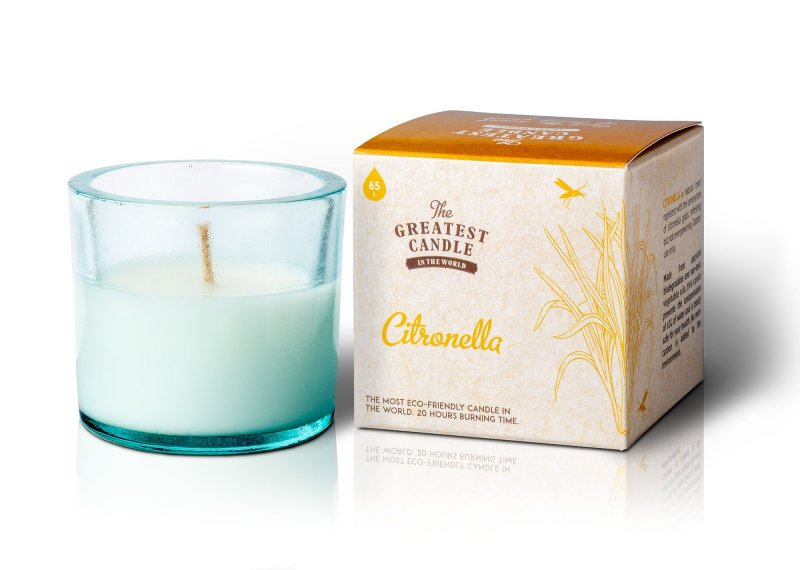 The greatest candle Vonná svíčka ve skle 75g citronelová